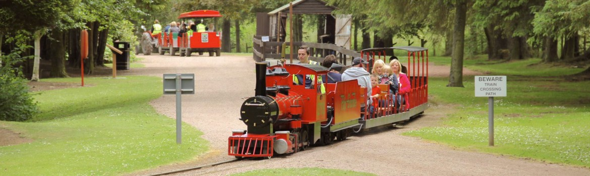 Ride Our Famous Miniature Railway!
