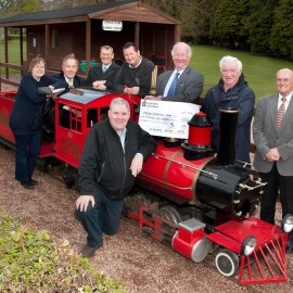 Rotary Club Funds New Train Station!